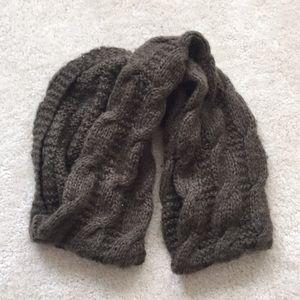 American Eagle wool infinity scarf